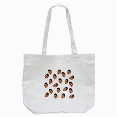 Crying Kim Kardashian Tote Bag (white)