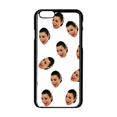 Crying Kim Kardashian Apple Iphone 6/6s Black Enamel Case