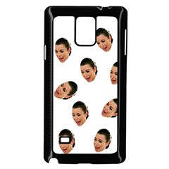 Crying Kim Kardashian Samsung Galaxy Note 4 Case (black)