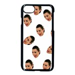 Crying Kim Kardashian Apple iPhone 7 Seamless Case (Black) Front