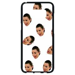 Crying Kim Kardashian Samsung Galaxy S8 Black Seamless Case