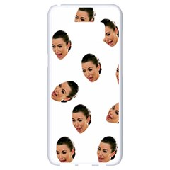 Crying Kim Kardashian Samsung Galaxy S8 White Seamless Case