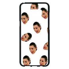 Crying Kim Kardashian Samsung Galaxy S8 Plus Black Seamless Case