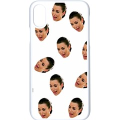 Crying Kim Kardashian Apple Iphone X Seamless Case (white)