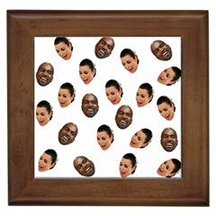 Crying Kim Kardashian Framed Tiles