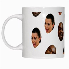 Crying Kim Kardashian White Mugs