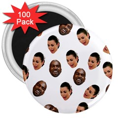 Crying Kim Kardashian 3  Magnets (100 Pack)