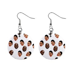 Crying Kim Kardashian Mini Button Earrings