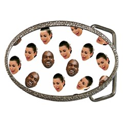 Crying Kim Kardashian Belt Buckles