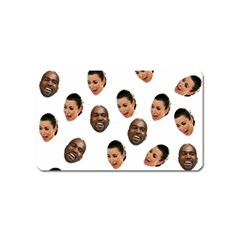 Crying Kim Kardashian Magnet (name Card)