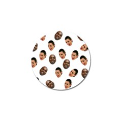 Crying Kim Kardashian Golf Ball Marker