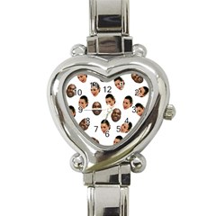 Crying Kim Kardashian Heart Italian Charm Watch