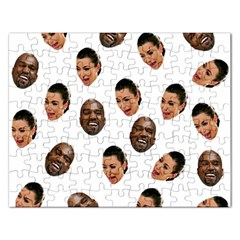 Crying Kim Kardashian Rectangular Jigsaw Puzzl