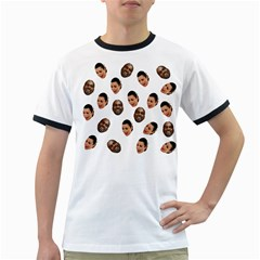Crying Kim Kardashian Ringer T Shirts