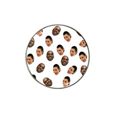 Crying Kim Kardashian Hat Clip Ball Marker