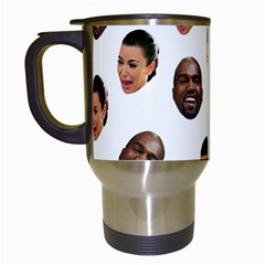 Crying Kim Kardashian Travel Mugs (white)