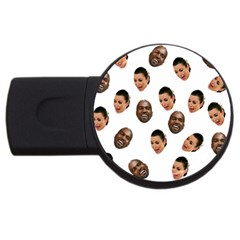 Crying Kim Kardashian Usb Flash Drive Round (4 Gb)