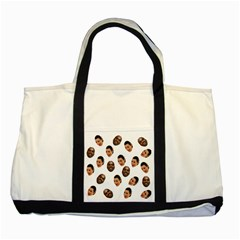 Crying Kim Kardashian Two Tone Tote Bag