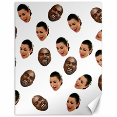Crying Kim Kardashian Canvas 12  X 16