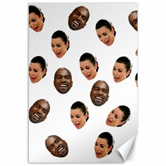 Crying Kim Kardashian Canvas 12  X 18
