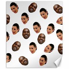 Crying Kim Kardashian Canvas 20  X 24