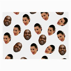 Crying Kim Kardashian Large Glasses Cloth