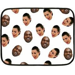 Crying Kim Kardashian Double Sided Fleece Blanket (mini)