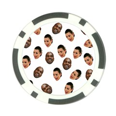 Crying Kim Kardashian Poker Chip Card Guard (10 Pack)