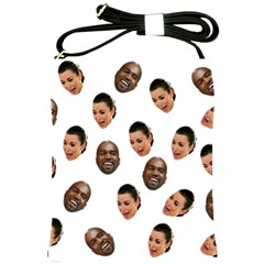 Crying Kim Kardashian Shoulder Sling Bags