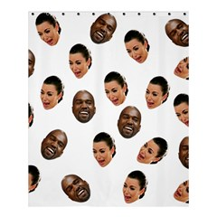 Crying Kim Kardashian Shower Curtain 60  X 72  (medium)