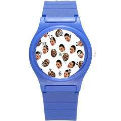 Crying Kim Kardashian Round Plastic Sport Watch (s)