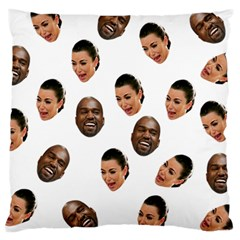 Crying Kim Kardashian Large Cushion Case (one Side)