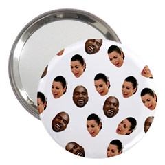 Crying Kim Kardashian 3  Handbag Mirrors