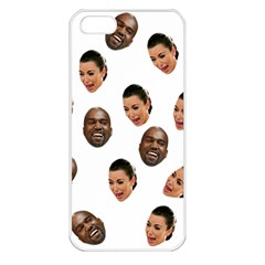 Crying Kim Kardashian Apple Iphone 5 Seamless Case (white)