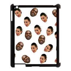 Crying Kim Kardashian Apple Ipad 3/4 Case (black)