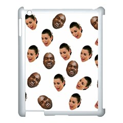 Crying Kim Kardashian Apple Ipad 3/4 Case (white)
