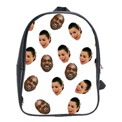 Crying Kim Kardashian School Bag (xl)