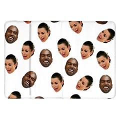 Crying Kim Kardashian Samsung Galaxy Tab 8 9  P7300 Flip Case