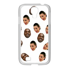 Crying Kim Kardashian Samsung Galaxy S4 I9500/ I9505 Case (white)