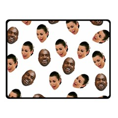 Crying Kim Kardashian Double Sided Fleece Blanket (small)