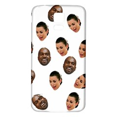Crying Kim Kardashian Samsung Galaxy S5 Back Case (white)