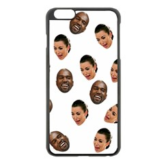 Crying Kim Kardashian Apple Iphone 6 Plus/6s Plus Black Enamel Case