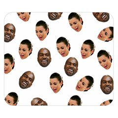 Crying Kim Kardashian Double Sided Flano Blanket (small)