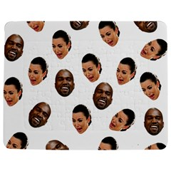 Crying Kim Kardashian Jigsaw Puzzle Photo Stand (rectangular)