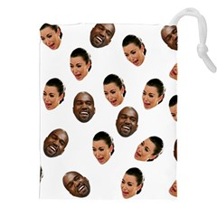 Crying Kim Kardashian Drawstring Pouches (xxl)
