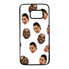 Crying Kim Kardashian Samsung Galaxy S7 Black Seamless Case
