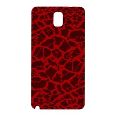 Red Earth Texture Samsung Galaxy Note 3 N9005 Hardshell Back Case