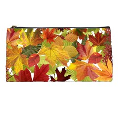 Autumn Fall Leaves Pencil Cases
