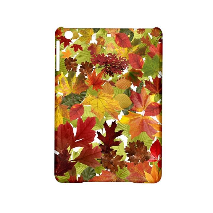 Autumn Fall Leaves iPad Mini 2 Hardshell Cases