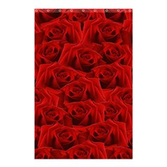 Romantic Red Rose Shower Curtain 48  X 72  (small)